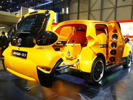 Toyota Aygo DJ Concept Car